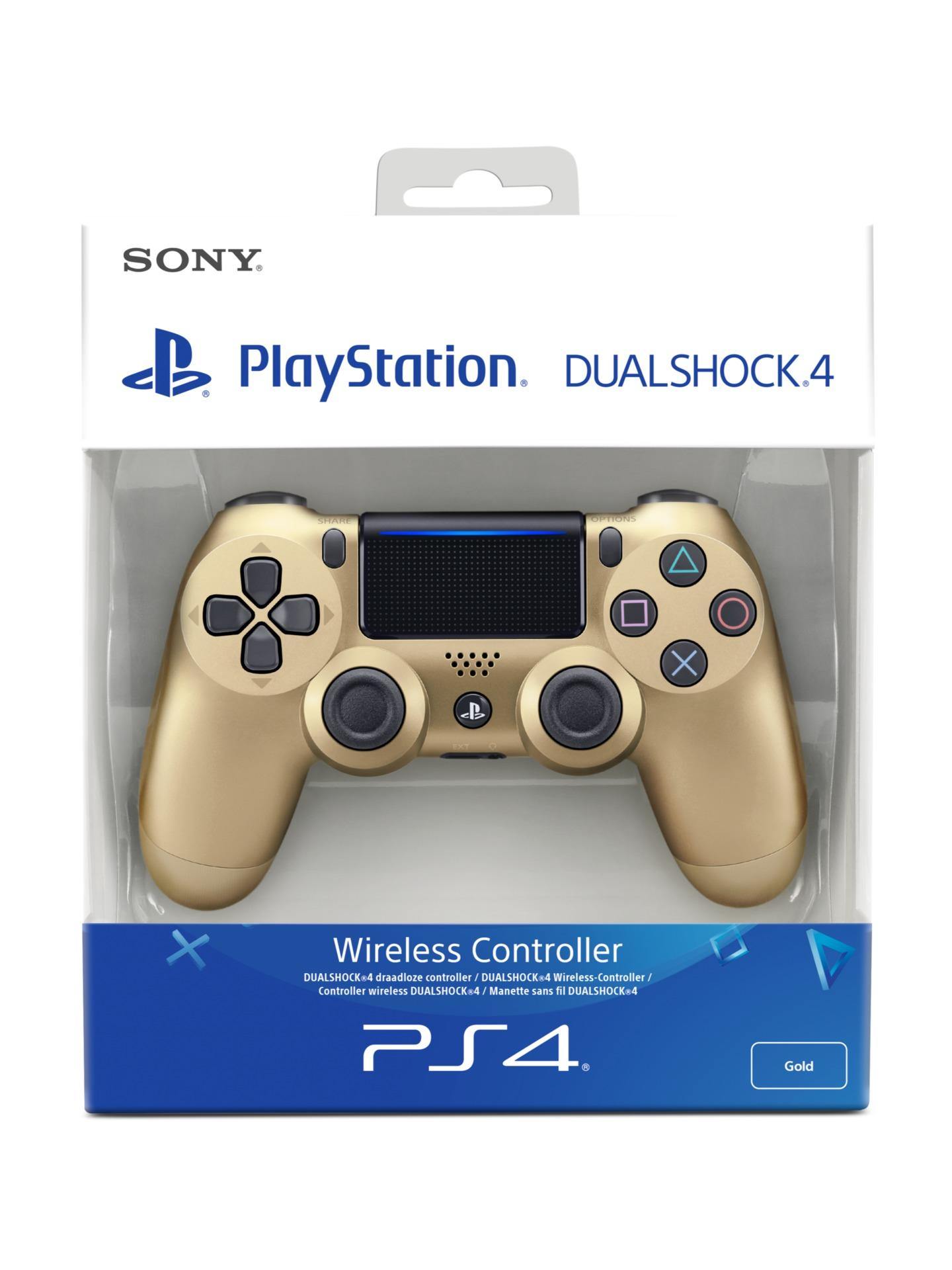 DualShock 4 ovladač - Zlatý V2 (PS4)