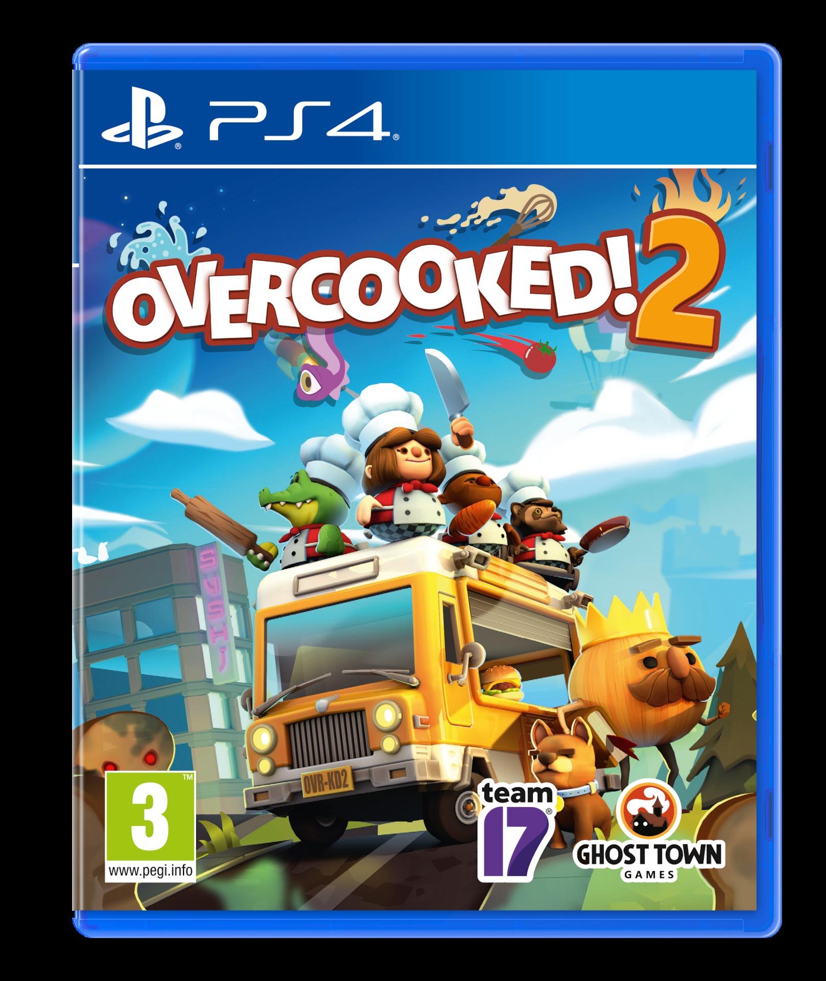 Overcooked 2 BAZAR (PS4)