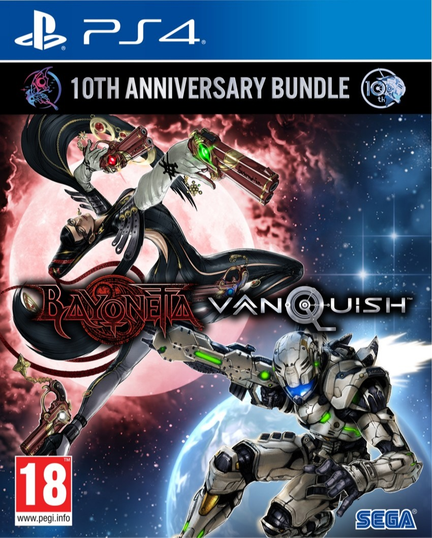 Bayonetta & Vanquish - 10th Anniversary Bundle Launch Edition (PS4)