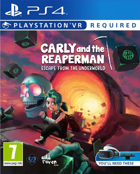 Carly and the Reaperman - Escape from the Underworld (PS4)