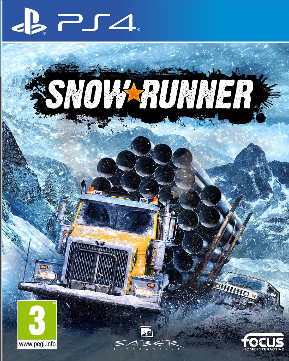 SnowRunner: A MudRunner Game (PS4)