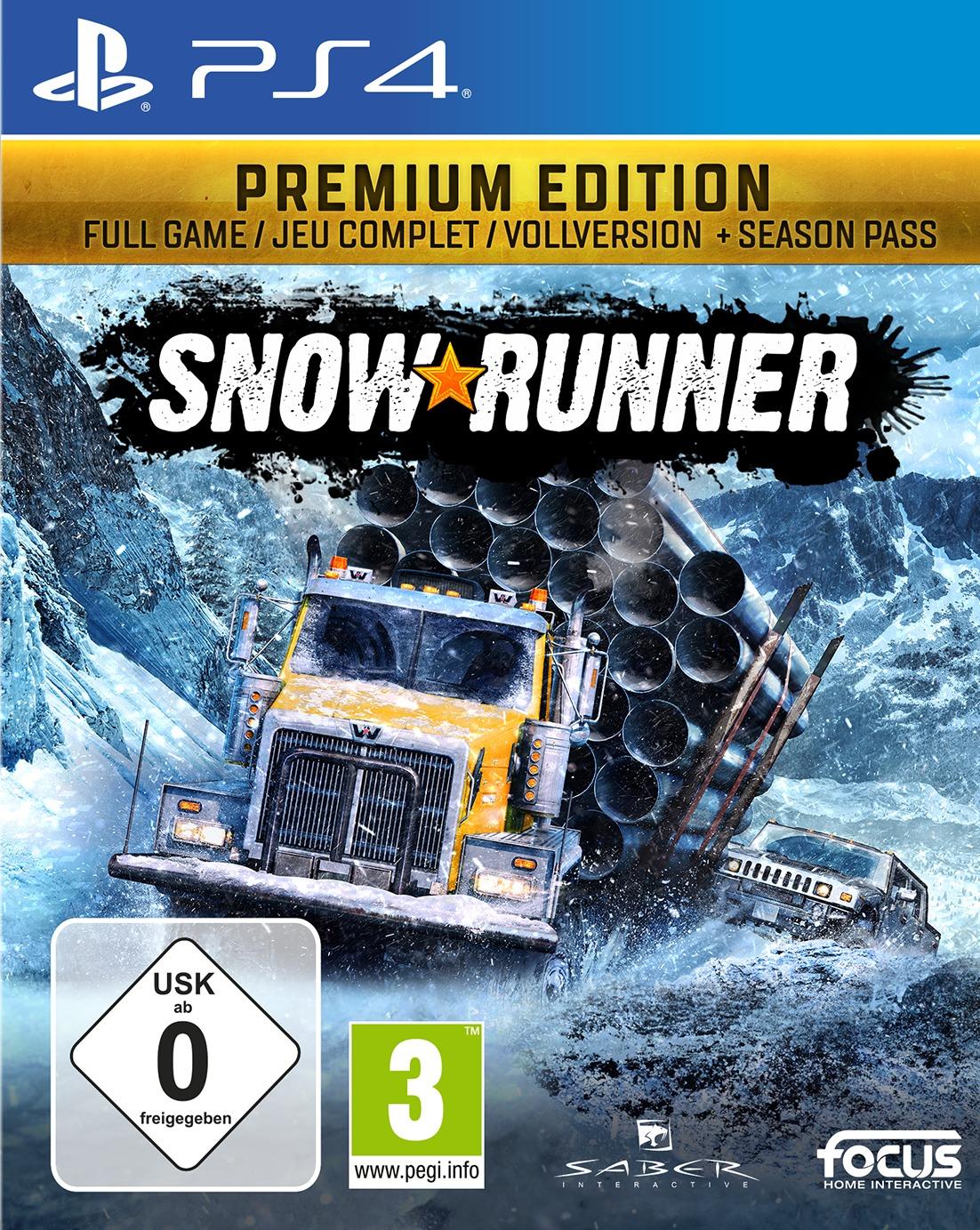 SnowRunner: A MudRunner Game - Premium Edition (PS4)