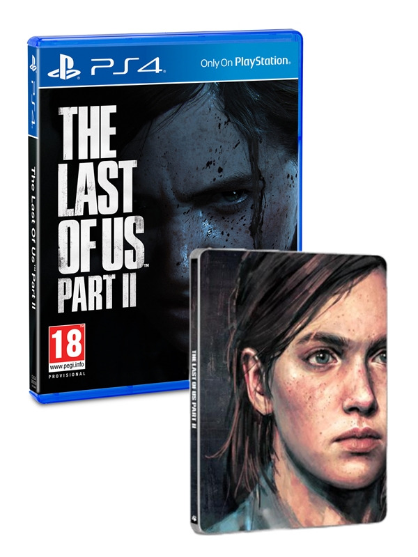 The Last of Us Part II - Steelbook Edition (PS4)
