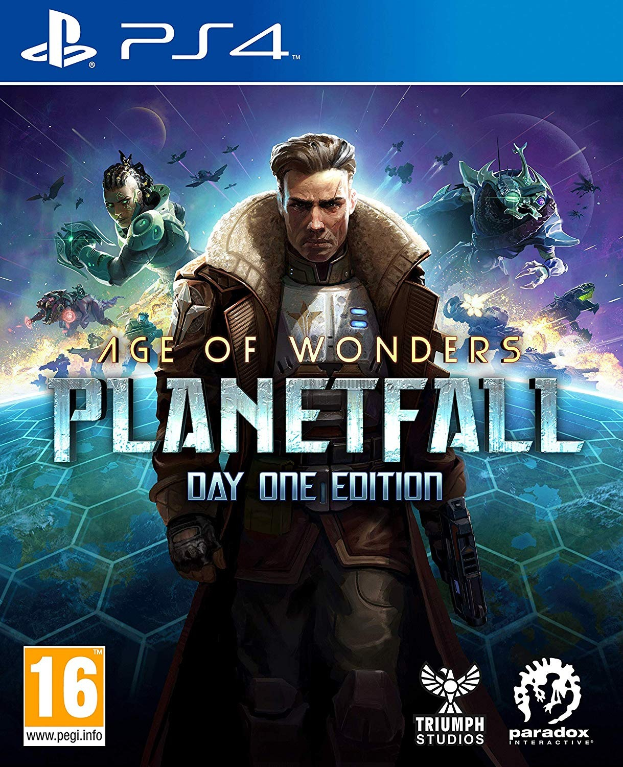 Age of Wonders: Planetfall - Day One Edition BAZAR (PS4)