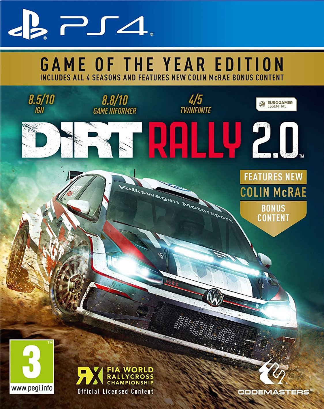 DiRT Rally 2.0 - Game of the Year Edition (PS4)