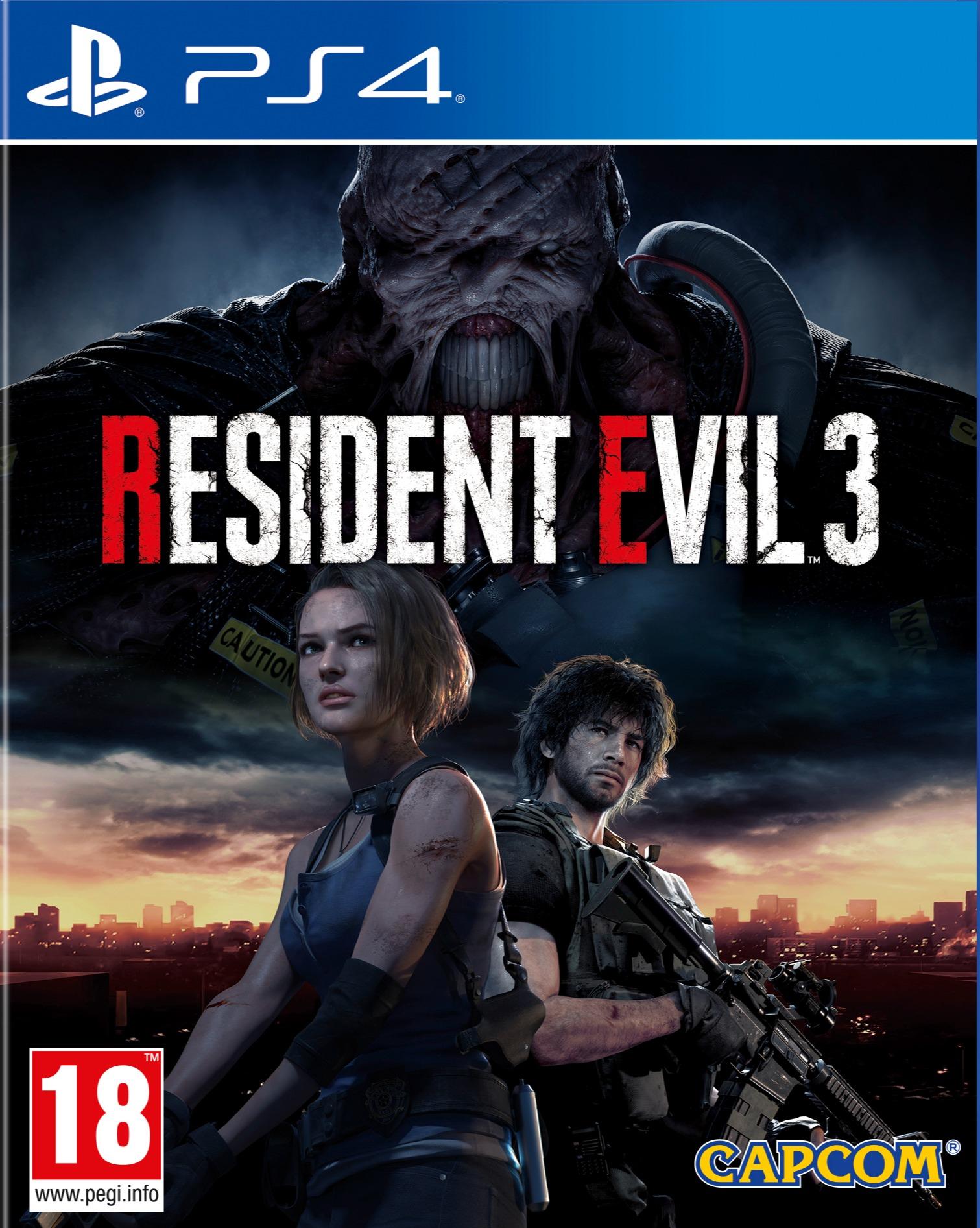 Resident Evil 3 BAZAR (PS4)