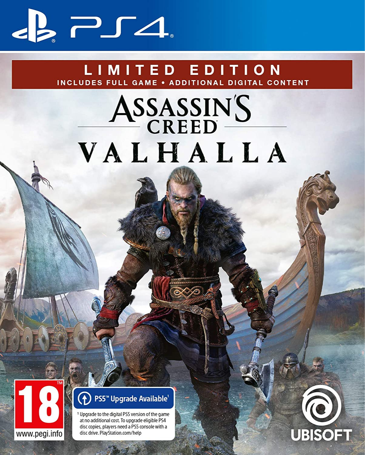 Assassins Creed: Valhalla - Limited Edition (PS4)