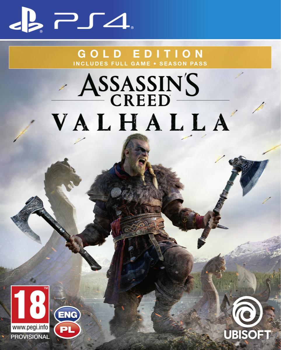 Assassins Creed: Valhalla - Gold Edition (PS4)