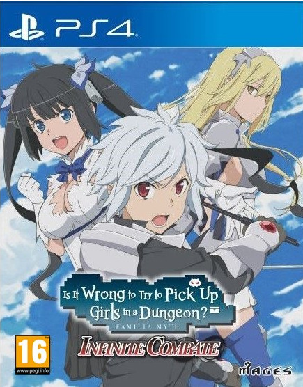 Is It Wrong to Pick Up Girls in a Dungeon (PS4)