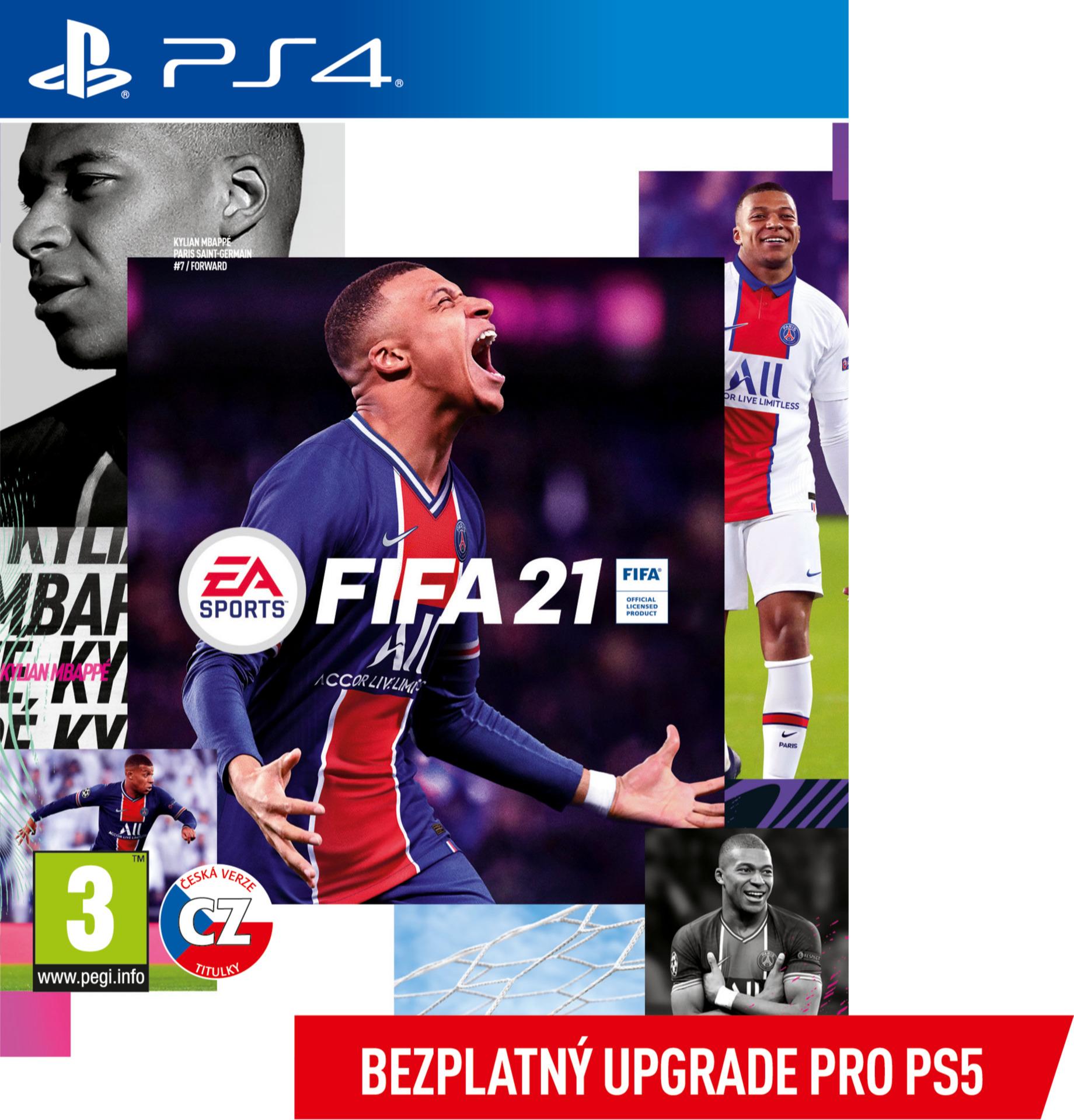 FIFA 21 (+ upgrade na PS5) (PS4)