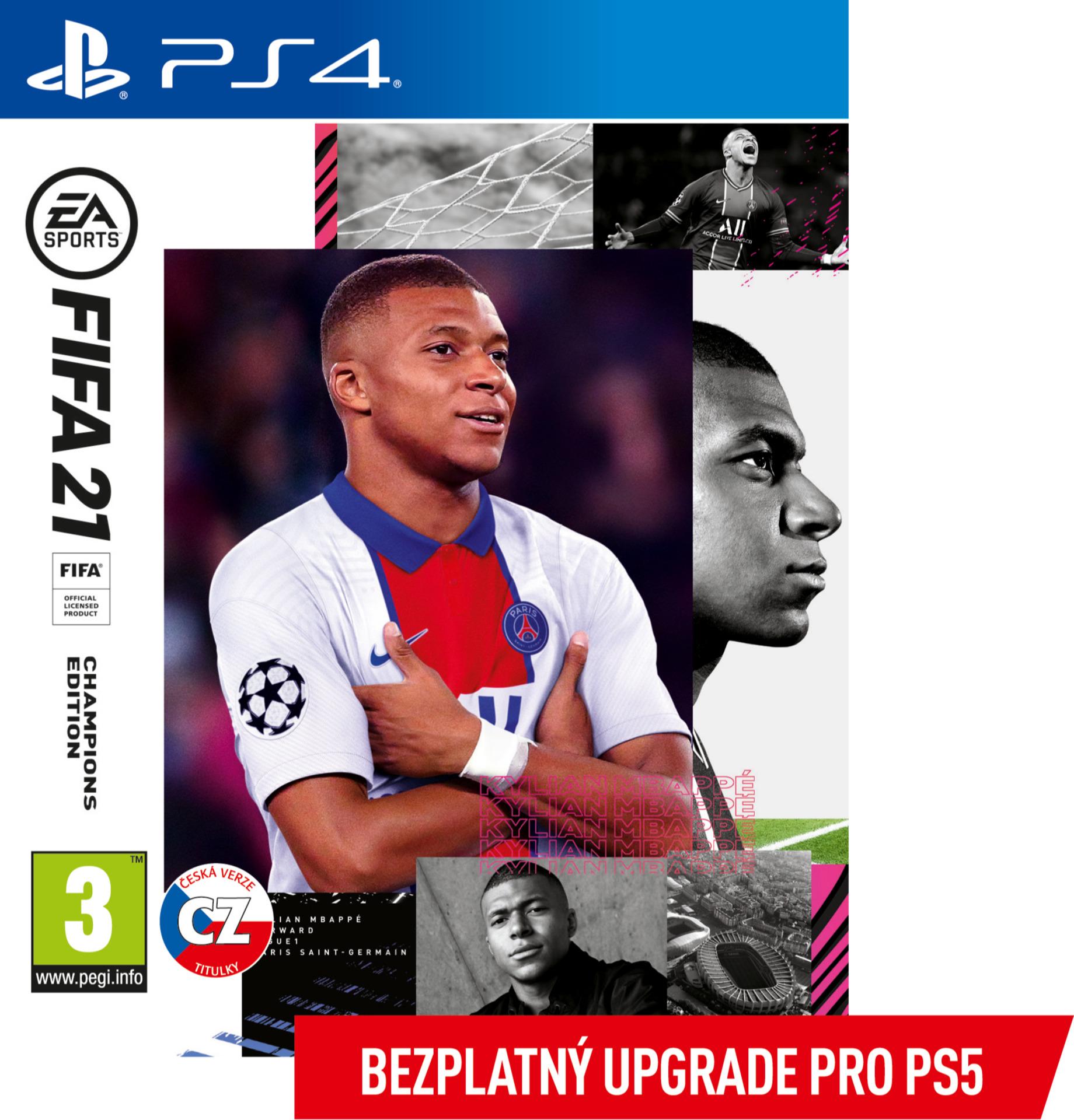 FIFA 21 - Champions Edition (+ upgrade na PS5) (PS4)