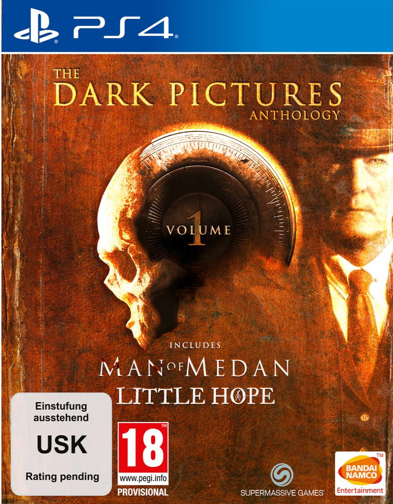 The Dark Pictures Anthology: Volume 1 (Man of Medan & Little Hope) - Limited Edition (PS4)