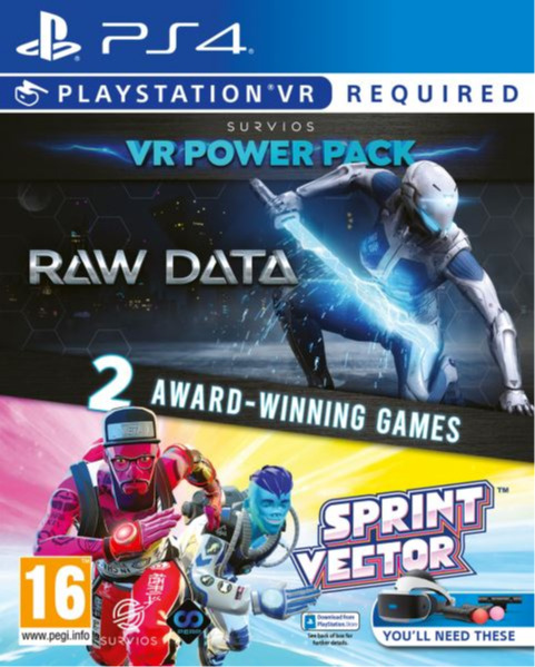Raw Data / Sprint Vector VR Pack (PS4)