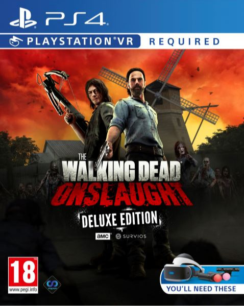 The Walking Dead: Onslaught - Deluxe Edition (PS4)