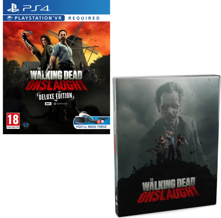 The Walking Dead: Onslaught - Survivor Edition (PS4)