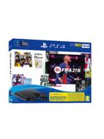 Konzole PlayStation 4 Slim 500GB + FIFA 21 + 2x ovladač (PS4)