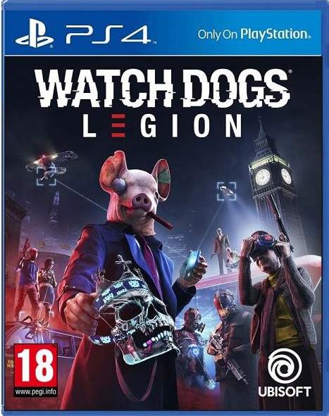 Watch Dogs: Legion BAZAR (PS4)