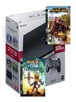 PlayStation 3 SLIM - 320 GB + Motorstorm 2 + Ratchet and Clank: A Crack in Time (PS3)