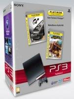 PlayStation 3 SLIM - 250 GB + Gran Turismo 5 Prologue + MotorStorm: Pacific Rift (PS3)