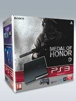 PlayStation 3 SLIM - 320 GB + Medal of Honor (PS3)