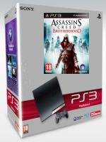 PlayStation 3 SLIM - 320 GB + Assassins Creed: Brotherhood (PS3)