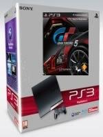 PlayStation 3 SLIM - 320 GB + Gran Turismo 5 + 2x DualShock Black (PS3)