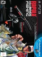 Rapala Pro Bass Fishing + prut (PS3)