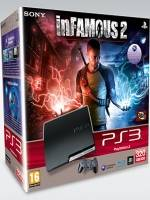 PlayStation 3 SLIM - 320 GB + inFamous 2 (PS3)