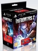 inFamous 2 + DualShock 3 Cosmic Blue Controller (PS3)