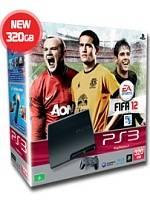 PlayStation 3 SLIM - 320 GB + FIFA 12 (PS3)