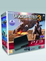 PlayStation 3 SLIM - 320 GB + Uncharted 3 (PS3)