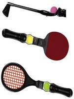 MATCH 3-in-1 Move Sports Kit - Black (PS3)