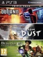 Beyond GoodaEvil + Outland + From Dust pack (PS3)