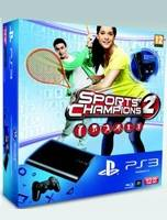 PlayStation 3 SuperSlim - 12 GB + Move + Camera + Sports Champions 2 (PS3)
