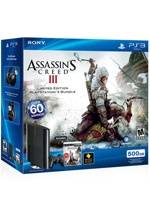 PlayStation 3 SuperSlim - 500 GB + Assassins Creed 3 (PS3)