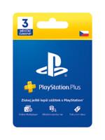 PlayStation Plus - členství na 3 měsíce (PS4)