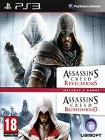 Assassins Creed: Revelations + Brotherhood double pack (PS3)