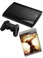 PlayStation 3 SuperSlim - 500 GB + God of War Ascension (PS3)