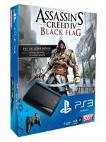 PlayStation 3 SuperSlim - 500 GB + Assassins Creed 4: Black Flag + The Last of Us (PS3)