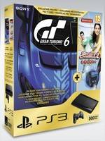 PlayStation 3 SuperSlim - 500 GB + GT 6 + Sports Champions 2 + Starter pack(PS3)