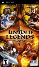 Untold Legends: Brotherhood of the Blade (PSP)