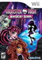 Monster High: New Ghoul in School (WII)