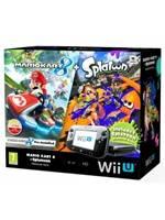Konzole Wii U Premium Pack Black + Mario Kart 8 + Splatoon (WII U)