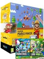 Konzole Wii U Premium Pack Black + Super Mario Maker + New Super Mario Bros. U (WIIU)