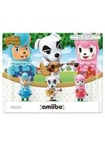 Figurka Amiibo - Animal Crossing 3-Pack: Reese/K.K./Cyrus