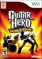 Guitar Hero IV: World Tour + kytara a bubny (WII)