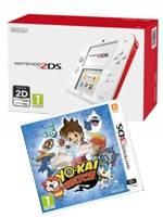Konzole Nintendo 2DS White Red + Yo-Kai Watch (3DS)