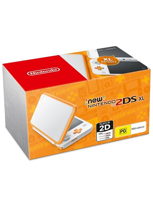 Konzole New Nintendo 2DS XL White & Orange (3DS)
