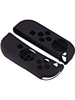 Silikonové obaly na Joy-Con ovladače (černé)