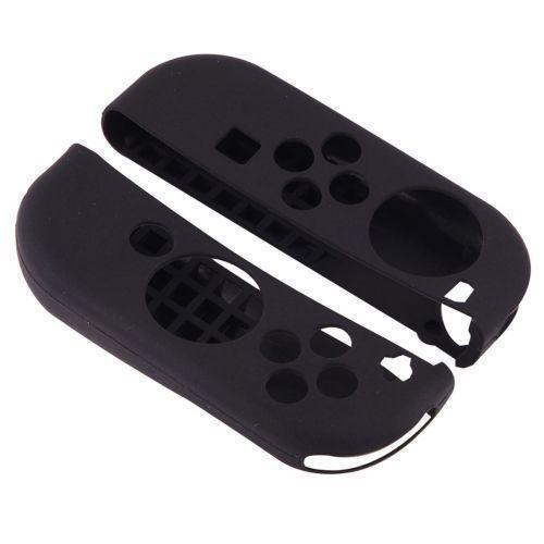 Silikonové obaly na Joy-Con ovladače (černé) (SWITCH)